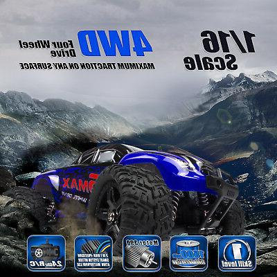 REMO 4WD Monster Brushed Off-Road 2.4Ghz Remote Control Car RTR