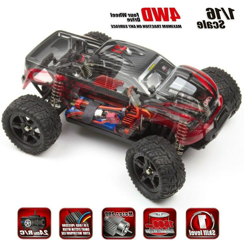REMO 1/16 Monster Truck 2.4Ghz Electric Remote Control Car RTR