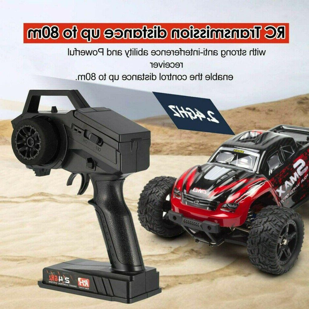 REMO 1/16 4WD Monster Truck 2.4Ghz Brushed Electric Remote RTR