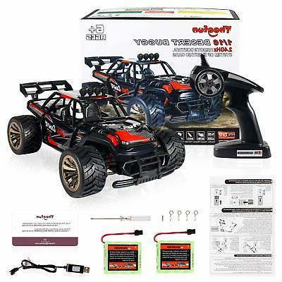 1:16 RC Road High Speed Monster Truck With Rechargeable Battery