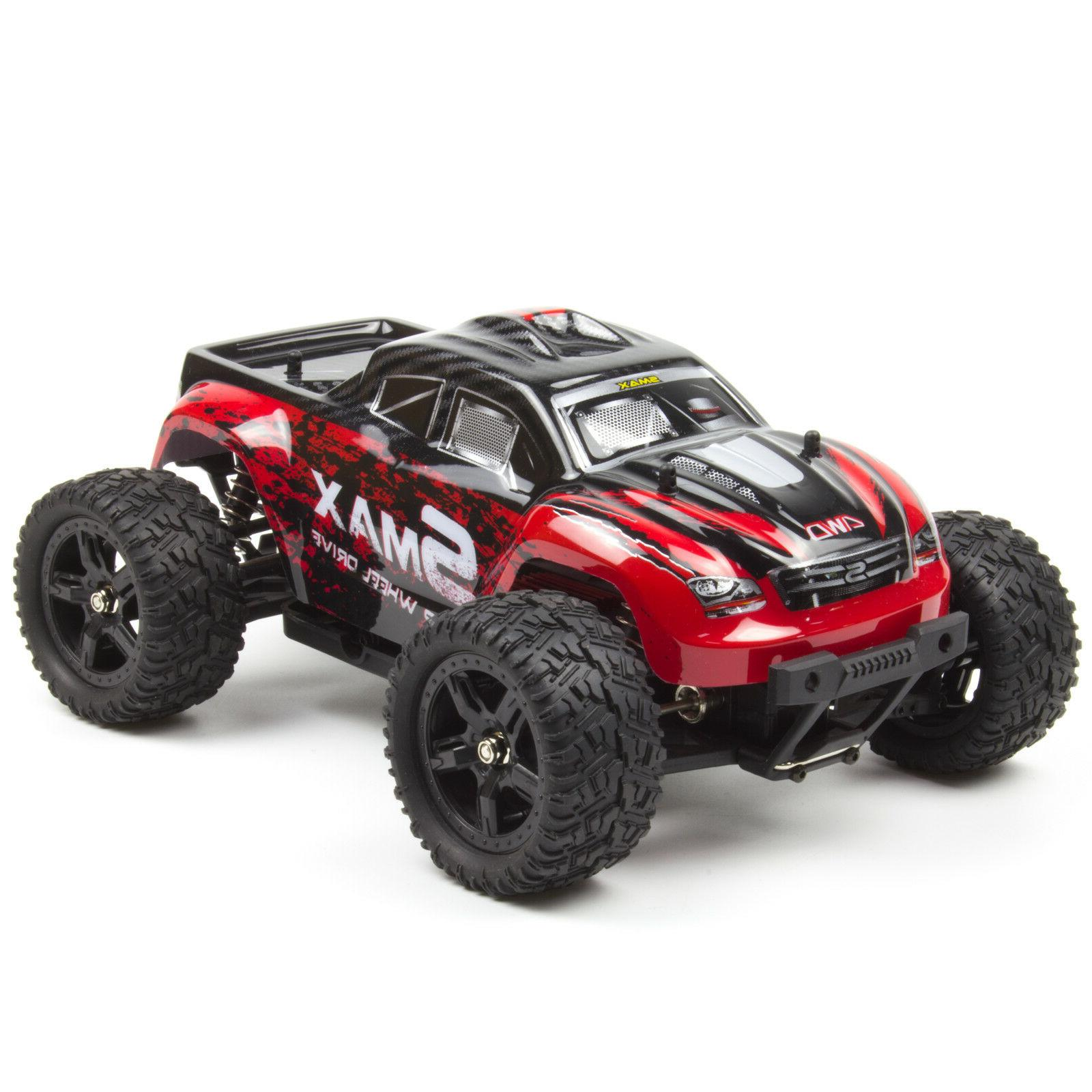 REMO RC Truck 2.4Ghz Bushed Red