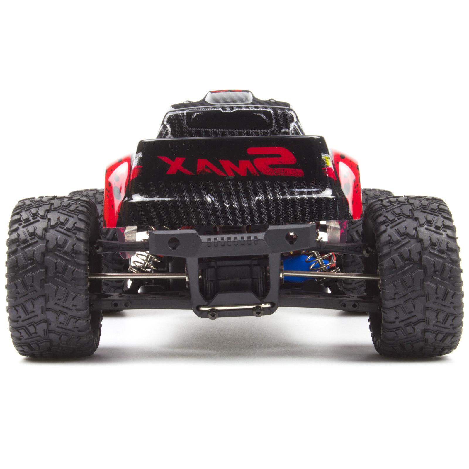 REMO 1/16 RC Monster Truck 2.4Ghz Bushed Red