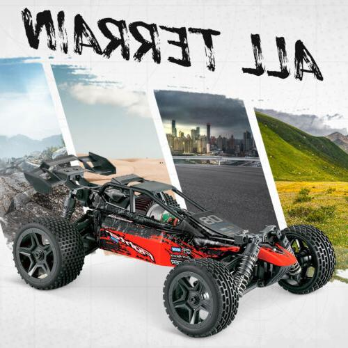 Hosim 4WD RC Car Remote Truck High Speed Buggy Crawler