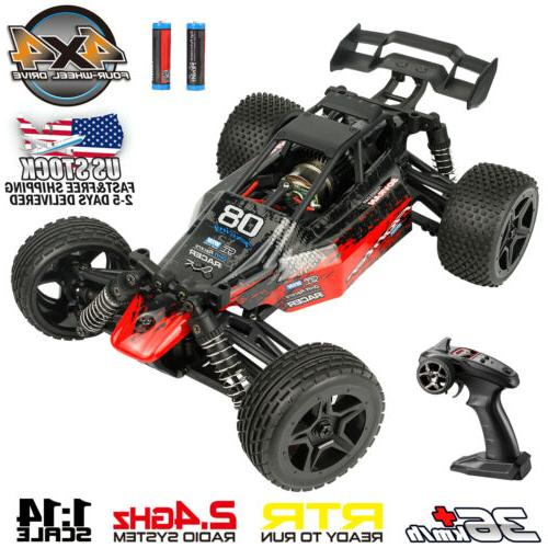 1 16 scale 4wd rc car remote