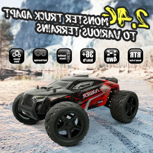 1:14 Scale Car 4WD Remote Truck High Road US STOCK