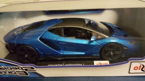 1 18 Maisto Lamborghini Centenario Blue Special Edition Diecast