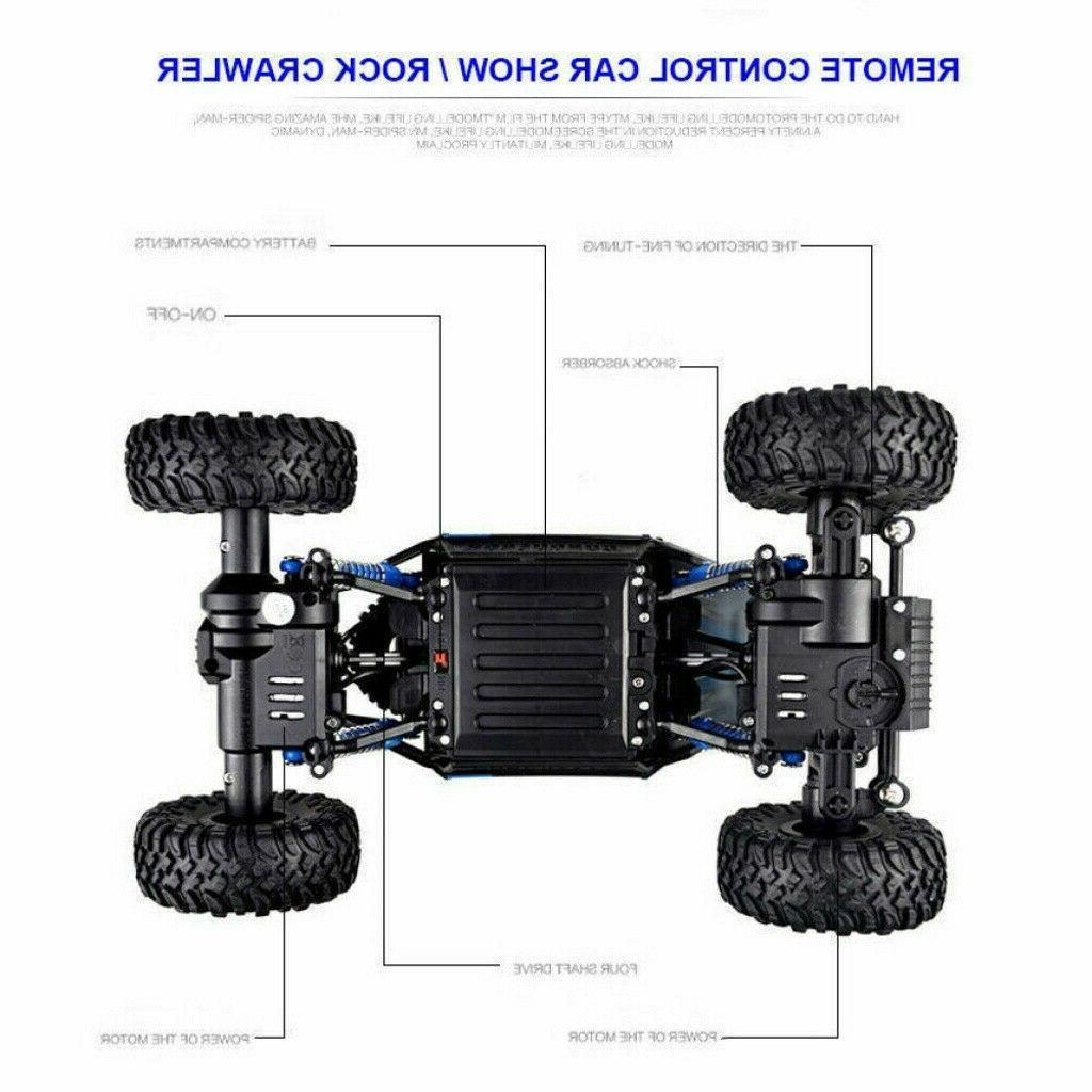 Truck Remote Control Crawler Gift