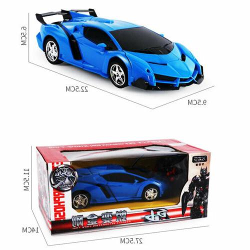 1:18 Car Remote 2 IN Toy Blue Cars