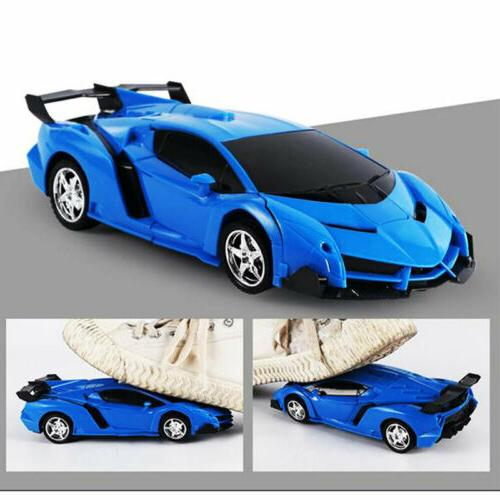 1:18 Transformer RC Robot Car Remote IN Boys Toy