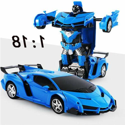 1:18 Car IN 1 Toy Gift Blue