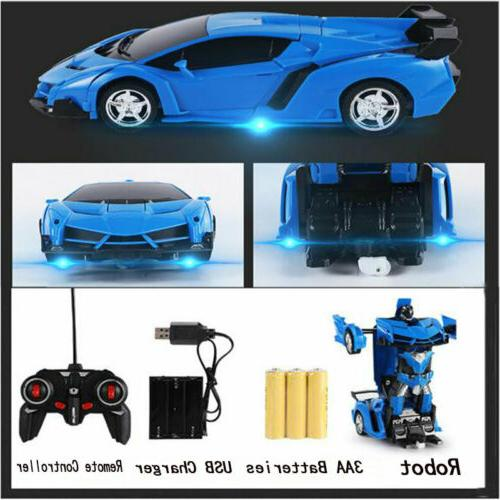 1:18 Car Remote Control IN 1 Boys Toy Gift Blue