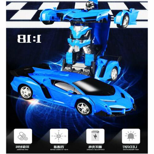 1:18 Robot Car 2 IN 1 Toy