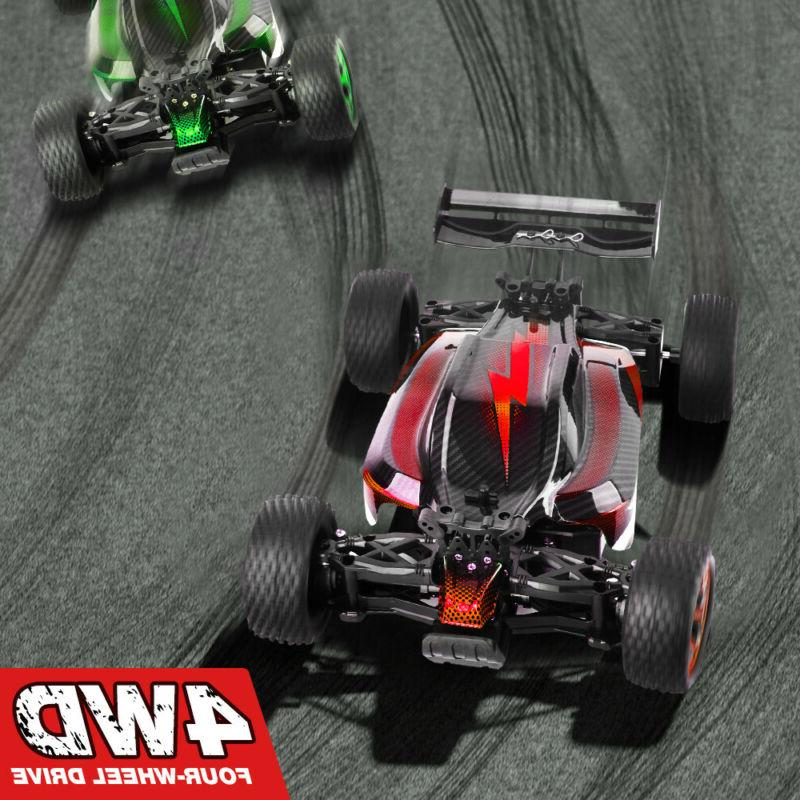 Rechargeable 1/18 Car Truggy Speed 2.4G RTR