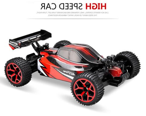1/18 4WD RC Buggy Car High-speed Racing