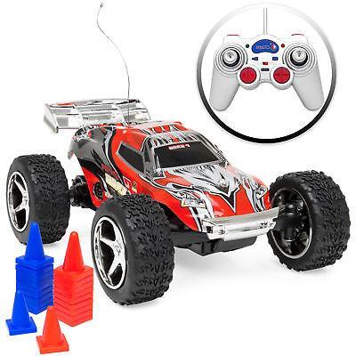 1/32 Scale 30km/h RC High Speed Mini Racing Toy Car w/ Recha