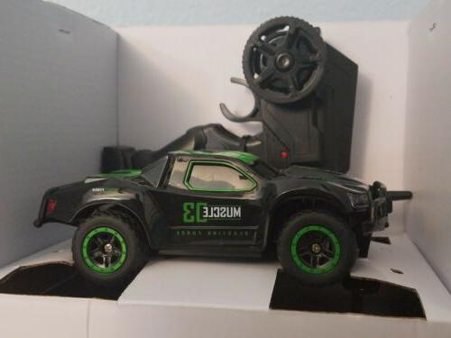 1/43 Mini RC Truck 25KM/H High Speed Rc car with LED Lights