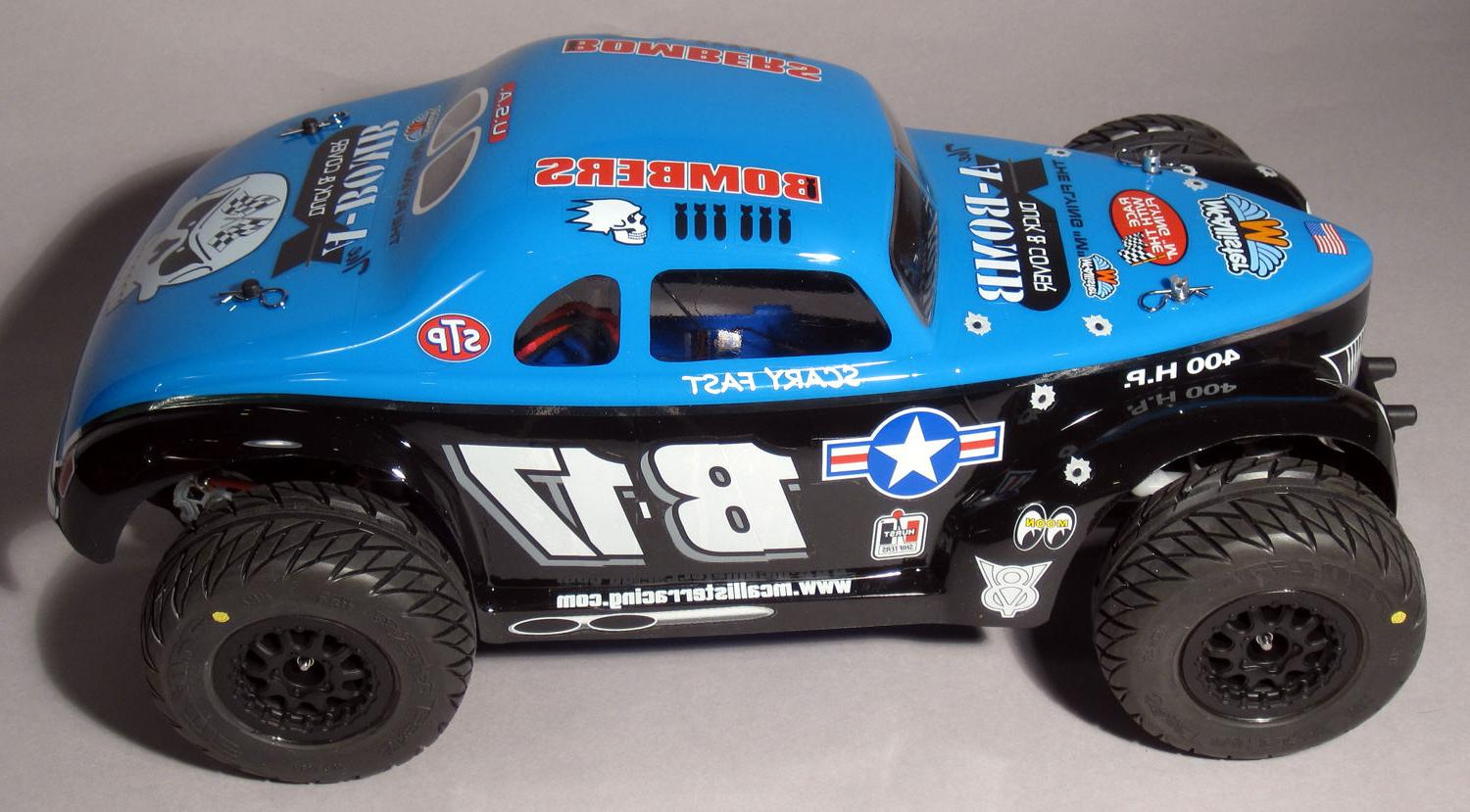 1/8 Clear body- MODIFIED Short Course Truck