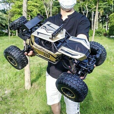 RC Car 1/8 4WD Remote Control Vehicle 2.4G Electric Monster Buggy Off-Road Car