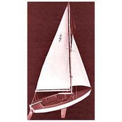 DUMAS 1110 Lightning Sailboat 19 Kit