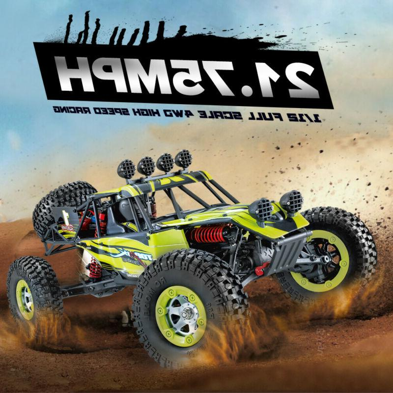 Upgraded 12428 2.4G 4WD RC CAR MONSTER TRUCK Off-Road Rock C