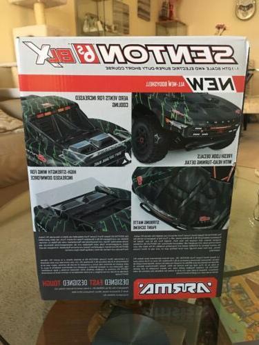 Arrma 2018 BLX Brushless 4WD Short Course Black/Green