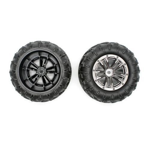 2Pcs Hosim RC Car Tires Wheels Off-Road  for 1:16 9130 RC Ca