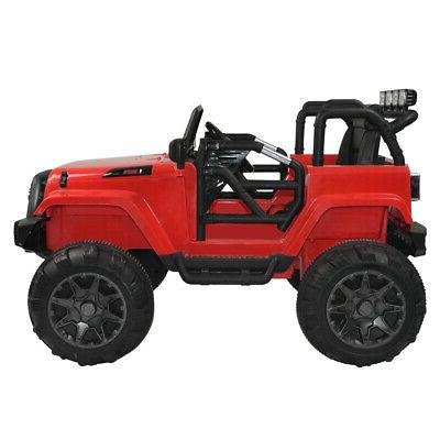 3 Speed 12V Kids Ride On Truck Car SUV MP3 RC Remote Control