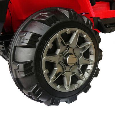 3 Speed 12V Ride SUV RC Remote Control Lights HE