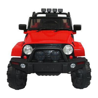 3 Ride On Truck Car SUV MP3 Remote Control LED