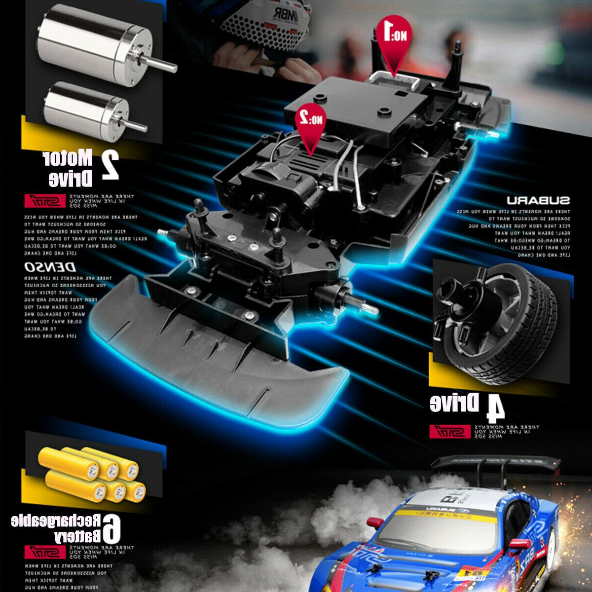 4WD Cars High 2.4GHz Drift Kid Gifts