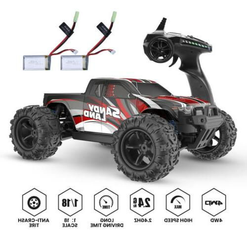 4wd 1 18 scale rc car high