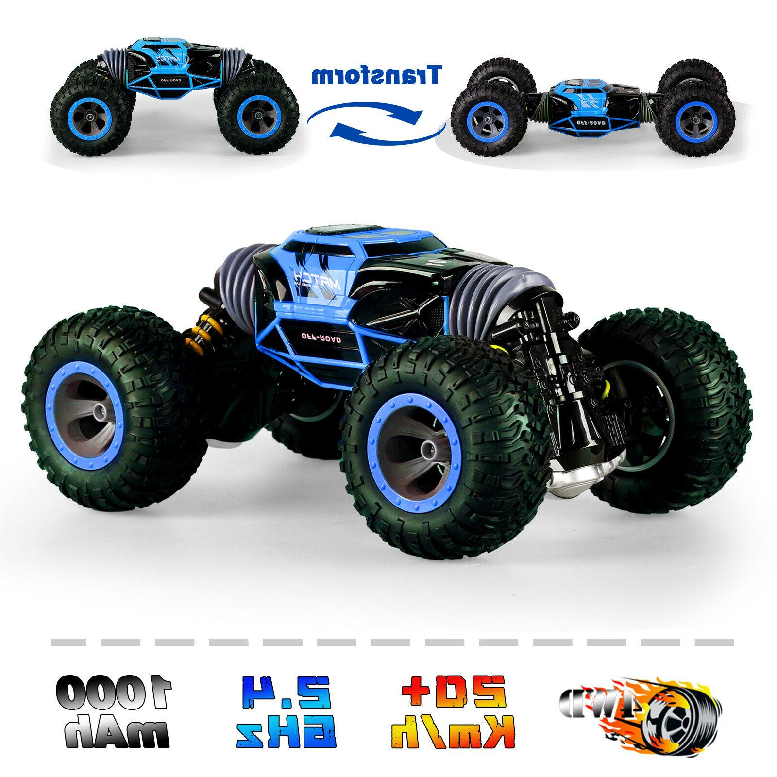 4wd rc cars off road stunt vehicles