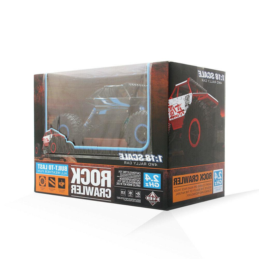 4WD RC Truck Off-Road Remote Control Gift