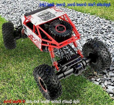 4WD RC Off-Road Vehicle Remote Control Crawler Red