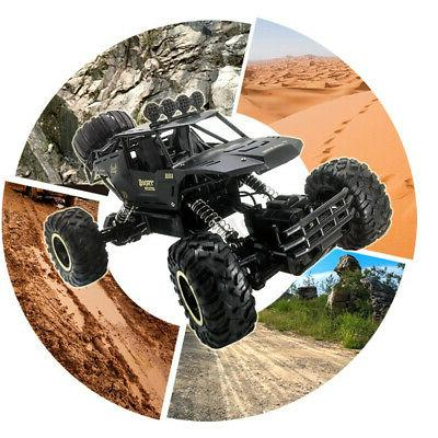 4WD Monster Truck Off-Road Vehicle 2.4G Remote Control Game