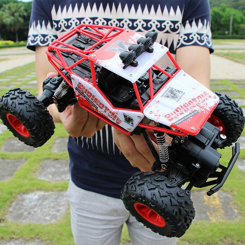 4WD Off-Road Remote Control Buggy Crawler Car US