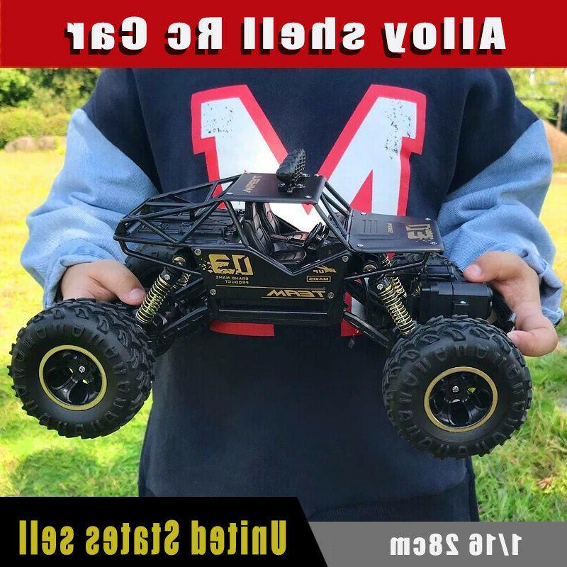 4WD RC Monster Truck Off-Road Vehicle Control Buggy US
