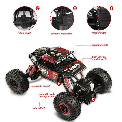 4WD Off-Road Vehicle 2.4G Control Buggy Crawler R/B