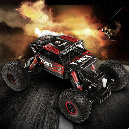 4WD RC Monster Truck Control Buggy Crawler R/B