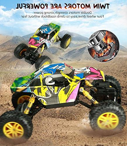 DOUBLE RC 1:18 Remote Control Truck Off Road Truck Rock Crawler