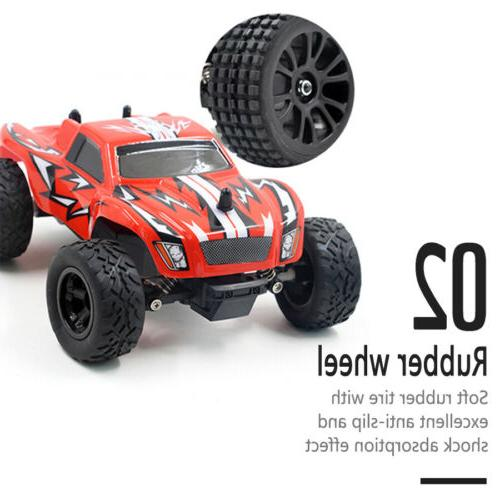 4WD Remote Monster Truck Terrain Off Road 2.4G
