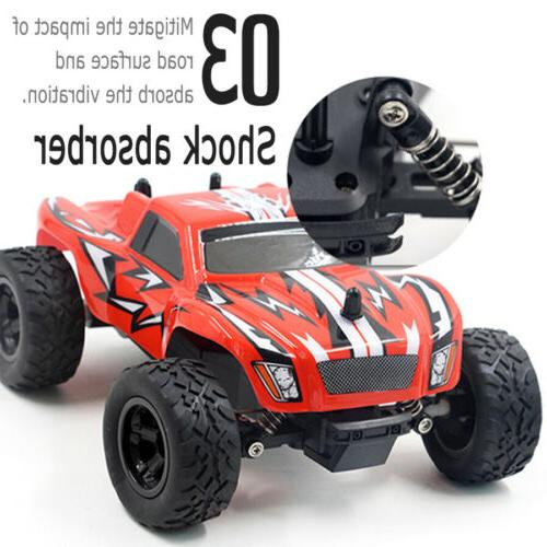 4WD Monster Terrain Off Road Vehicle 2.4G RED