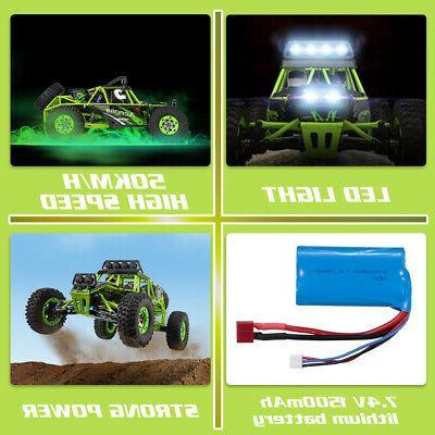 Wltoys High Speed RC Car 1/12 2.4G 4WD Off Rock Crawler USA