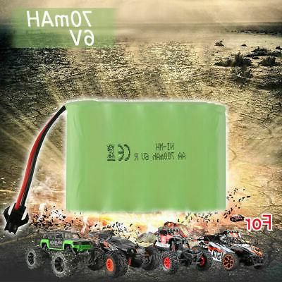 Rechargeable 6V 700mAh Ni-MH Battery Pack SM 2P Plug for Kid