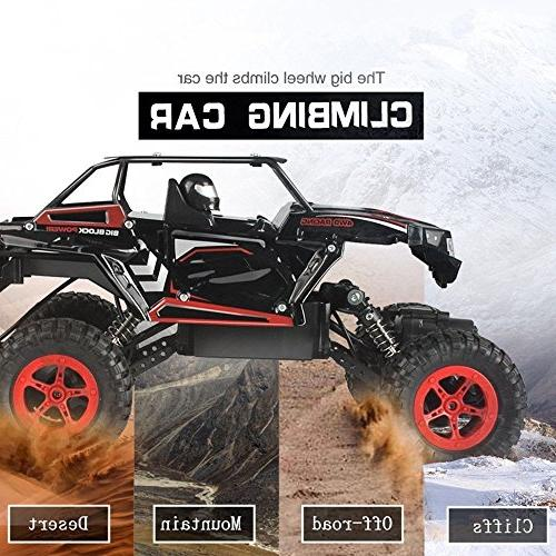 Crawler, Scale High 20km/h Off Road Truck Vehicle, All-Terrain Climbing Car