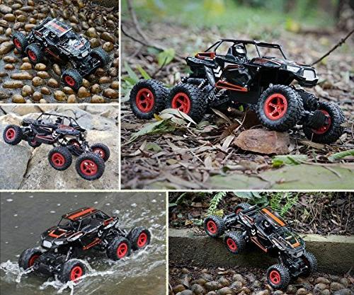 Hosim Crawler, 1:14 Scale High Speed Off Truck All-Terrain 6x6 RC Buggy Climbing