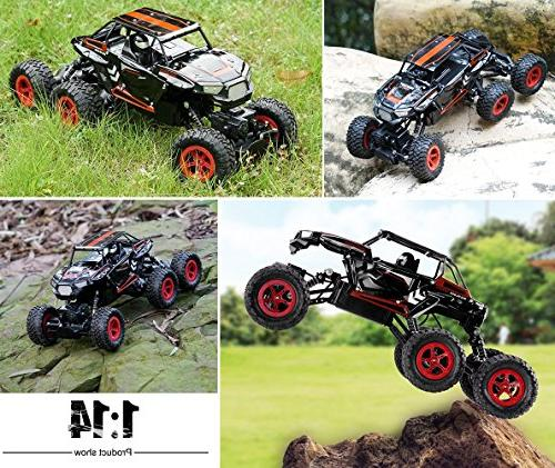 Hosim Rock Crawler, 1:14 High 20km/h RTR Off Road Truck All-Terrain RC Buggy Climbing