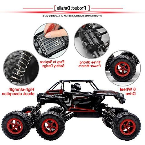 Hosim Crawler, Off All-Terrain RC Buggy Climbing