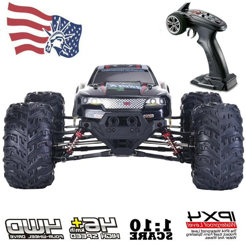 RC Car 1:10 Scale 4WD 2.4Ghz Off-road Remote Control Monster