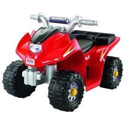 Fisher-Price Power Wheels Kawasaki Lil' Quad - Drives on Har